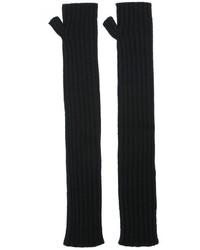 Gants longs noirs Dolce & Gabbana