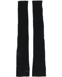 Gants longs noirs MM6 MAISON MARGIELA