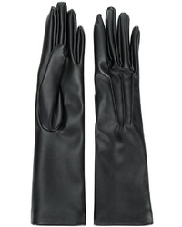 Gants longs noirs Stella McCartney