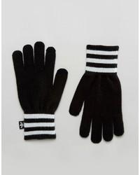 Gants noirs adidas