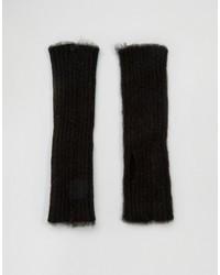 Gants noirs Asos