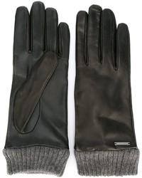 Gants noirs Diesel