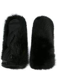 Gants noirs DSQUARED2