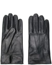 Gants noirs Emporio Armani