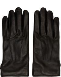 Gants noirs Lanvin