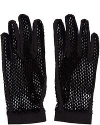 Gants noirs MM6 MAISON MARGIELA