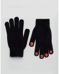 Gants noirs Monki