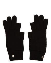Gants noirs Rick Owens