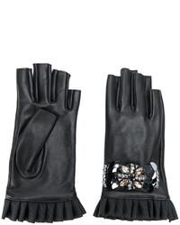 Gants noirs Twin-Set