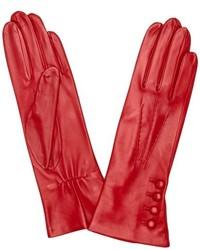 Gants rouges Dents