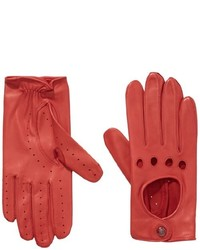 Gants rouges Roeckl