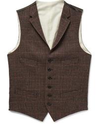 Gilet en laine brun Polo Ralph Lauren