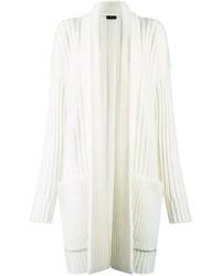 Gilet en tricot blanc