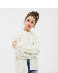 Gilet en tricot blanc Oneon