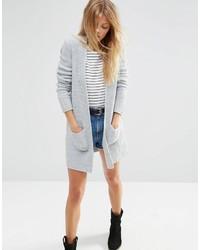 Gilet en tricot gris Asos