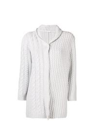 Gilet en tricot gris Borgo Asolo
