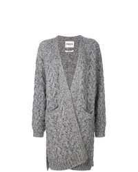 Gilet en tricot gris Essentiel Antwerp