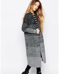 Gilet en tricot gris