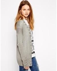 Gilet en tricot gris RVCA