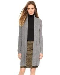 Gilet en tricot gris Soft Joie