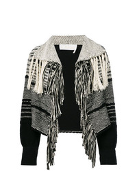 Gilet en tricot noir Chloé