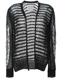 Gilet en tricot noir Maison Margiela