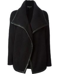 Gilet en tricot noir Ralph Lauren