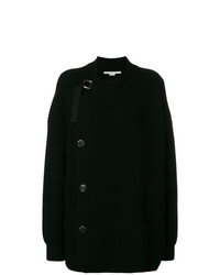 Gilet en tricot noir Stella McCartney