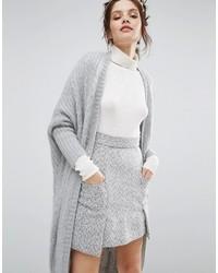 Gilet épaisse gris