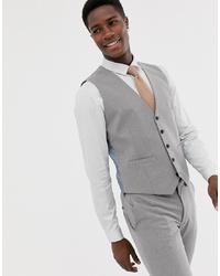 Gilet gris Burton Menswear