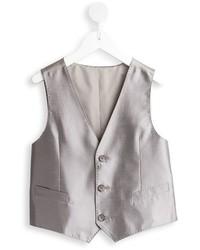 Gilet gris Dolce & Gabbana