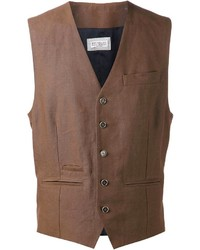 Gilet marron Brunello Cucinelli