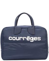 Grand sac bleu marine Courreges