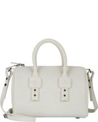 Grand sac en cuir blanc