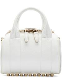 Grand sac en cuir blanc Alexander Wang