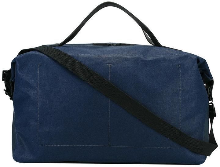 Grand sac en cuir bleu marine Ally Capellino