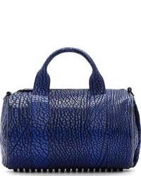 Grand sac en cuir bleu Alexander Wang