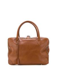 Grand sac en cuir brun Golden Goose Deluxe Brand