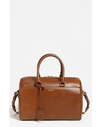 Grand sac en cuir marron