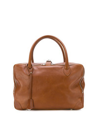 Grand sac en cuir marron Golden Goose Deluxe Brand