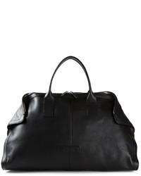 Grand sac en cuir noir Alexander McQueen