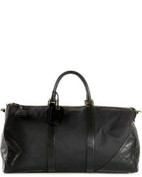 Grand sac en cuir noir Chanel