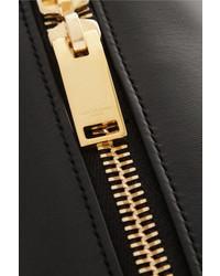 Grand sac en cuir noir Saint Laurent