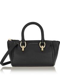 Grand sac en cuir noir Diane von Furstenberg