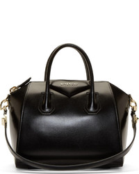 Grand sac en cuir noir Givenchy