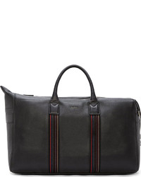 Grand sac en cuir noir Paul Smith