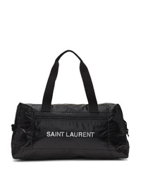 Grand sac en cuir noir Saint Laurent