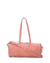 Grand sac en cuir rose Mansur Gavriel