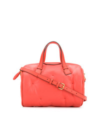 Grand sac en cuir rouge Anya Hindmarch