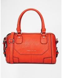 Grand sac en cuir rouge Fiorelli